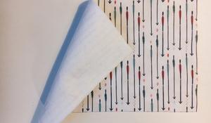 KROK II - Usztywnianie tkaniny